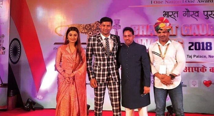 Renowned Wrestler Sangram Singh Gets Prestigious Bharat Gaurav Award